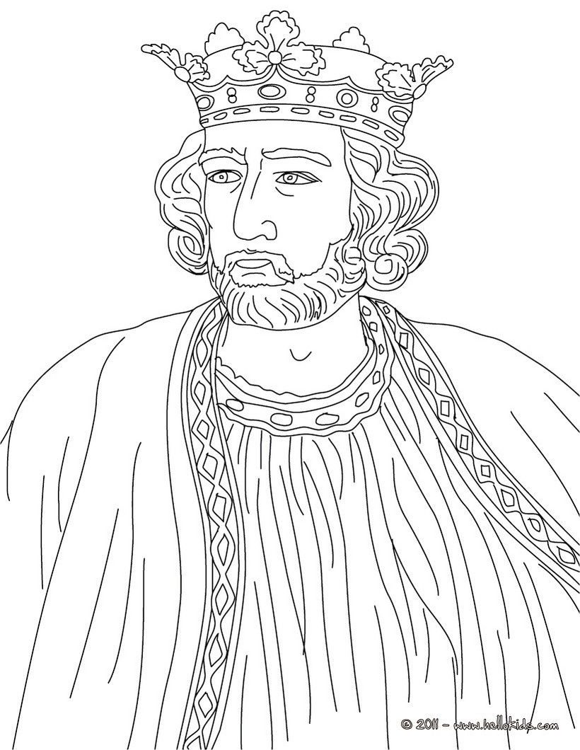 Queen Elizabeth I Coloring Pages