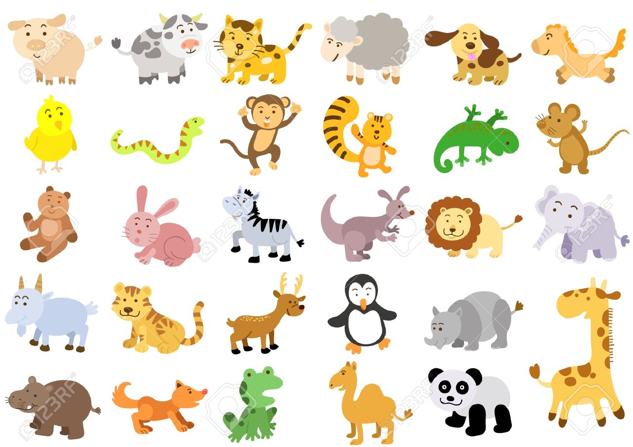 Extra Large Set Of Animals File