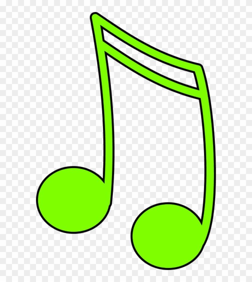Musical Note Color Clip Art