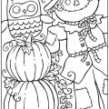 Free Autumn Leaves Coloring Sheets