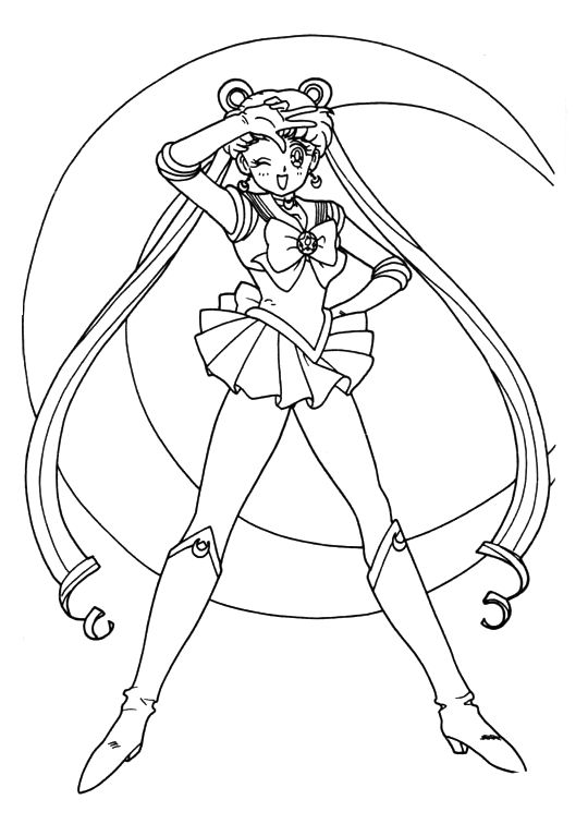 87 Best Sailor Moon Lineart References Images On Neo Coloring