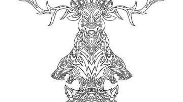 Totem Pole Coloring Pictures