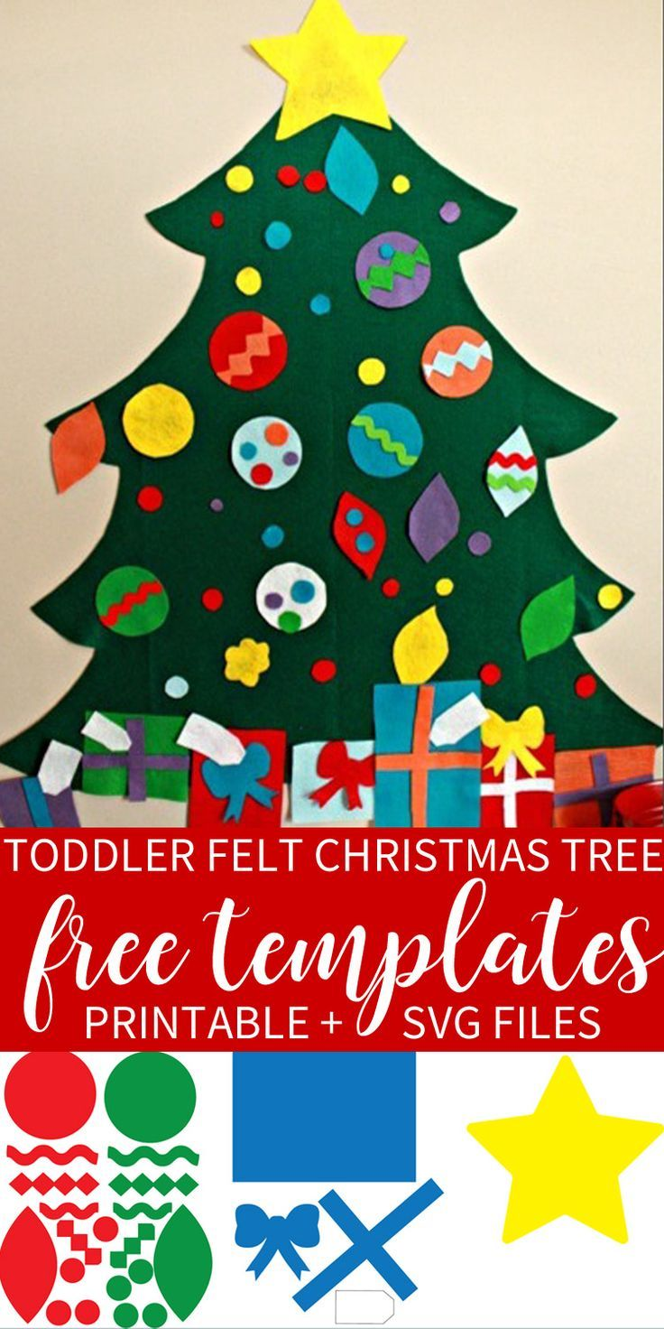 Grab Your Free Templates + Svg Cut Files For The Toddler Felt