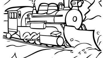 Polar Express Movie Coloring Pages