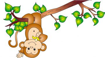 Cute Monkey Pictures To Color