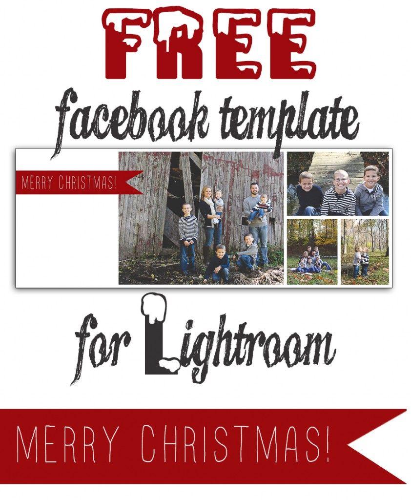 Free Christmas Facebook Timeline Templates For Lightroom In 12