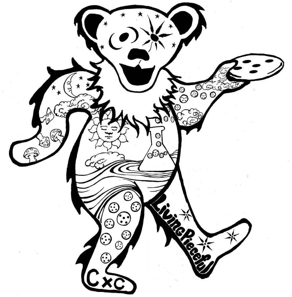 Image Result For Grateful Dead Coloring Pages Free