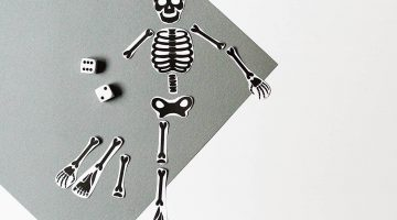 Skeleton Cut Out For Kids