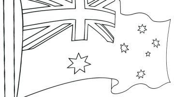 Australian Outback Coloring Pages