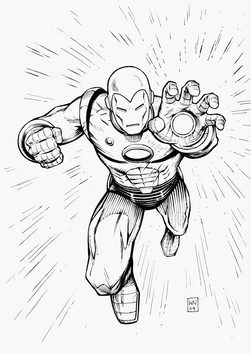 Avengers Iron Man Coloring Pages Coloring Pages Marvel Avengers