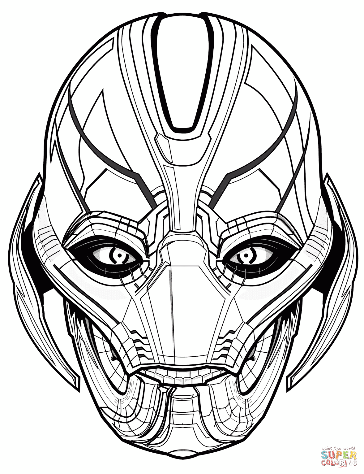 Marvel's The Avengers Coloring Pages