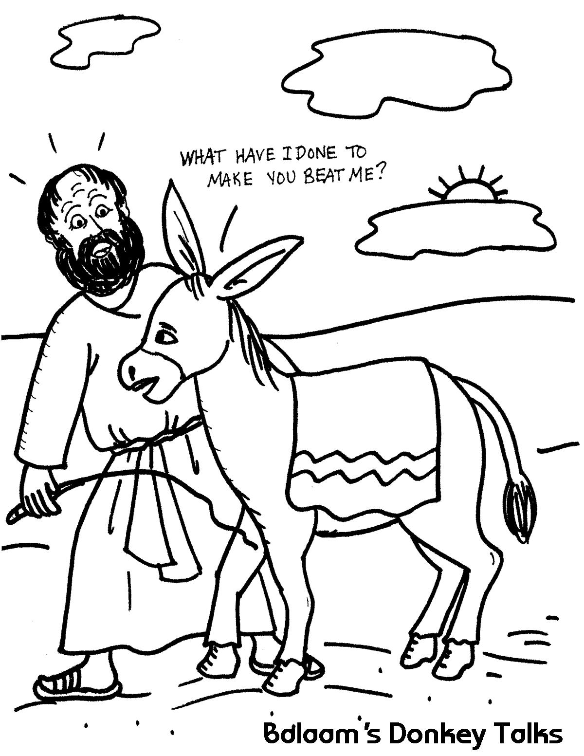 Balaam's Donkey Talks