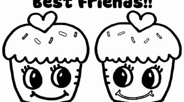 Free Printable Bff Coloring Pages