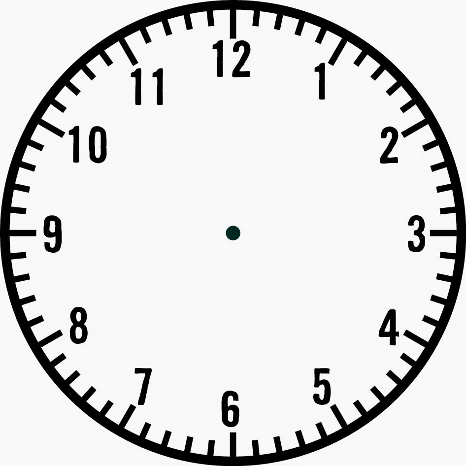 Print Out This Blank Clock