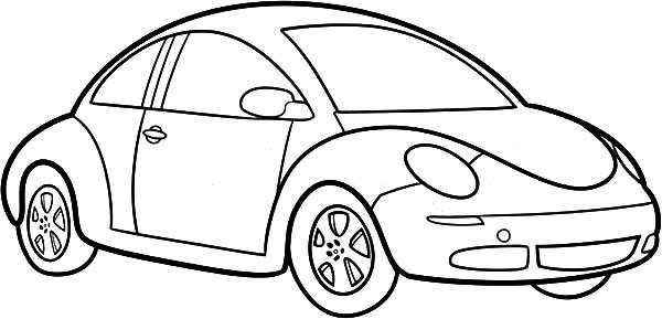 Download Car Picture To Color