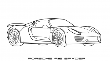 Car Coloring Pages Pdf