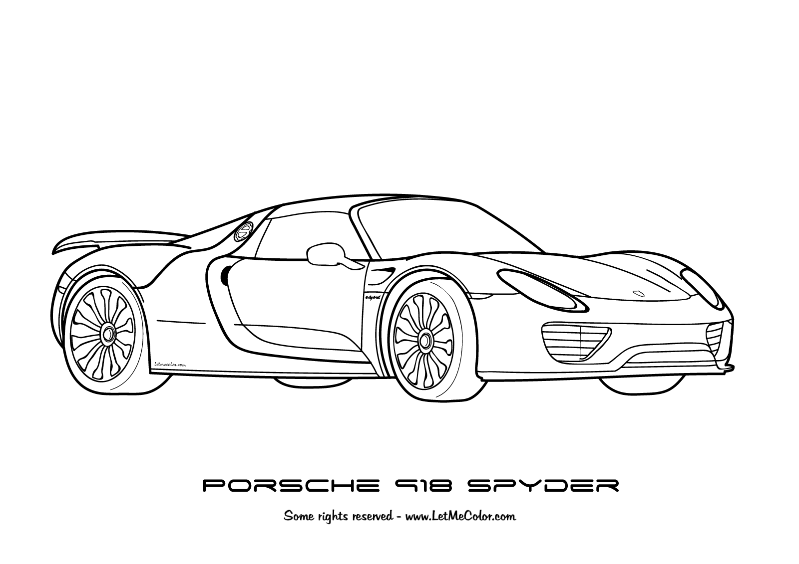 Coloring Lamborghini – Letmecolor