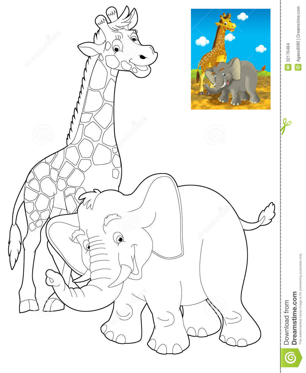 Cartoon Safari