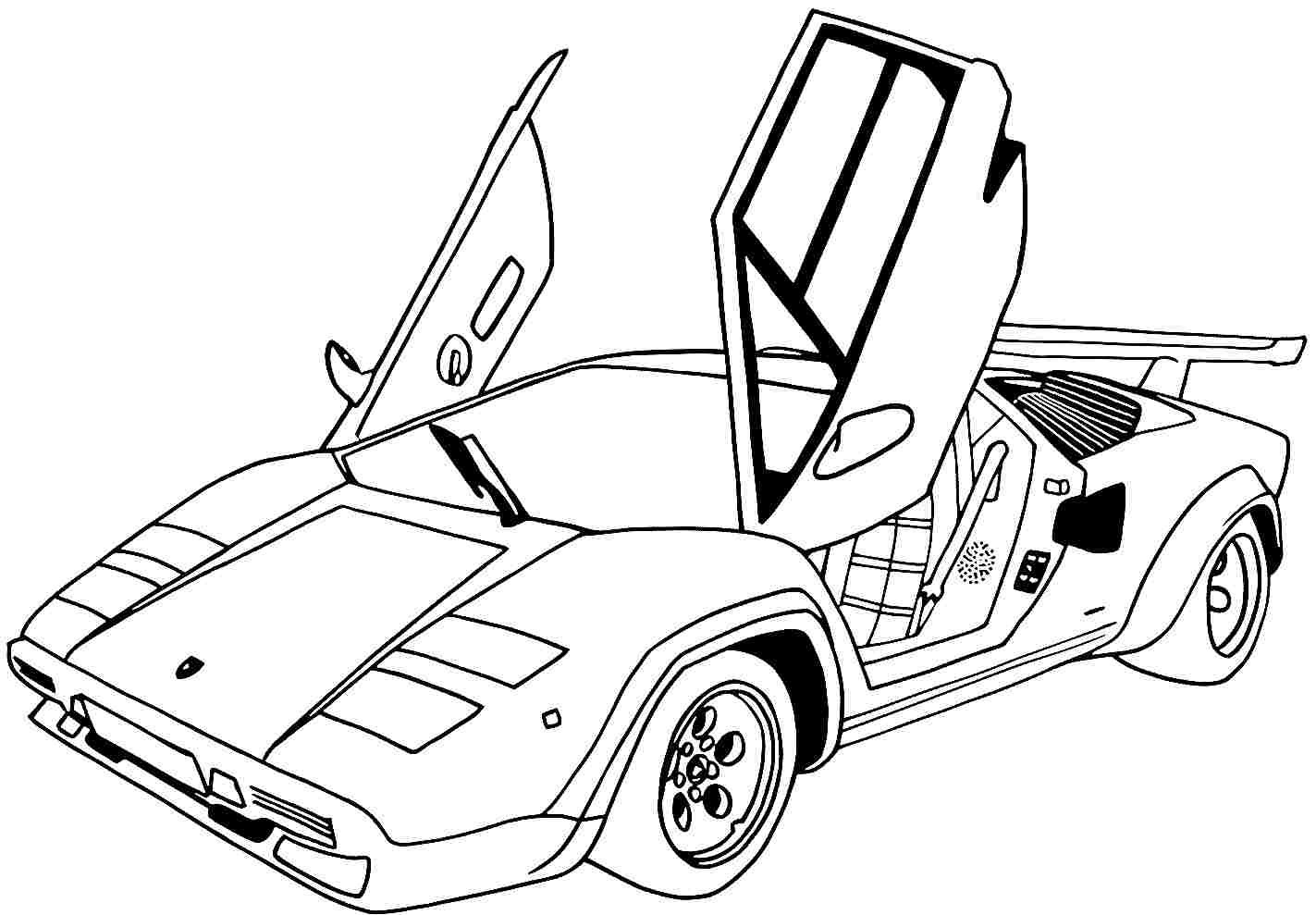 Cheap Sports Car Coloring Pages Printable In Fancy Nice Sport Cars