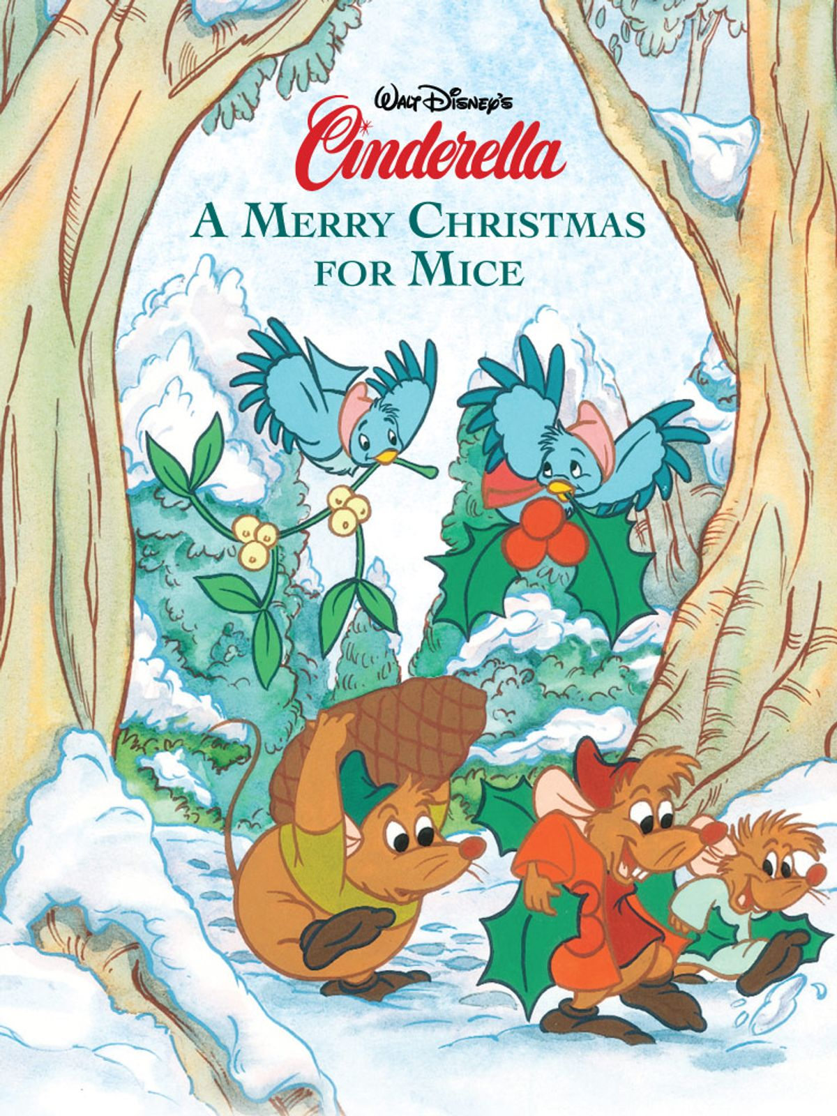 Cinderella  A Merry Christmas For Mice Ebook By Disney Book Group