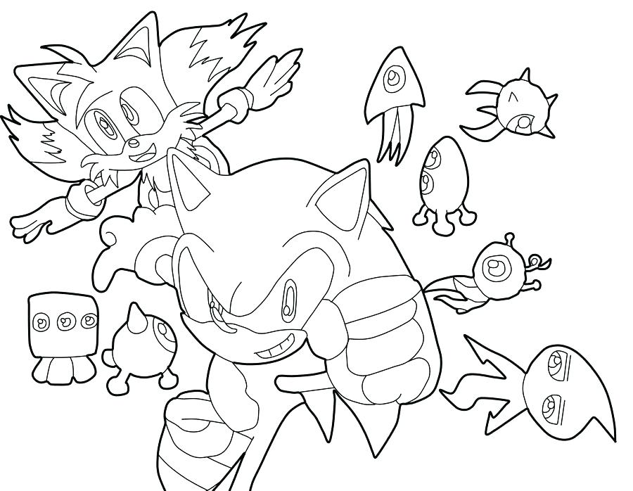 Sonic Colors Coloring Pages  2701719