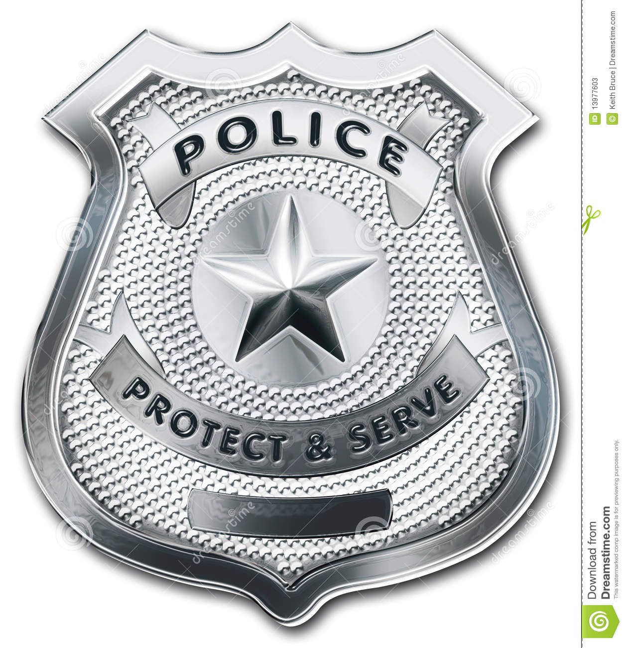 Comfortable Printable Police Badge Template Images Professional