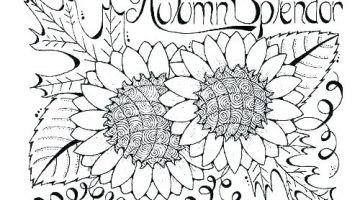 Autumn Coloring Sheets Printable