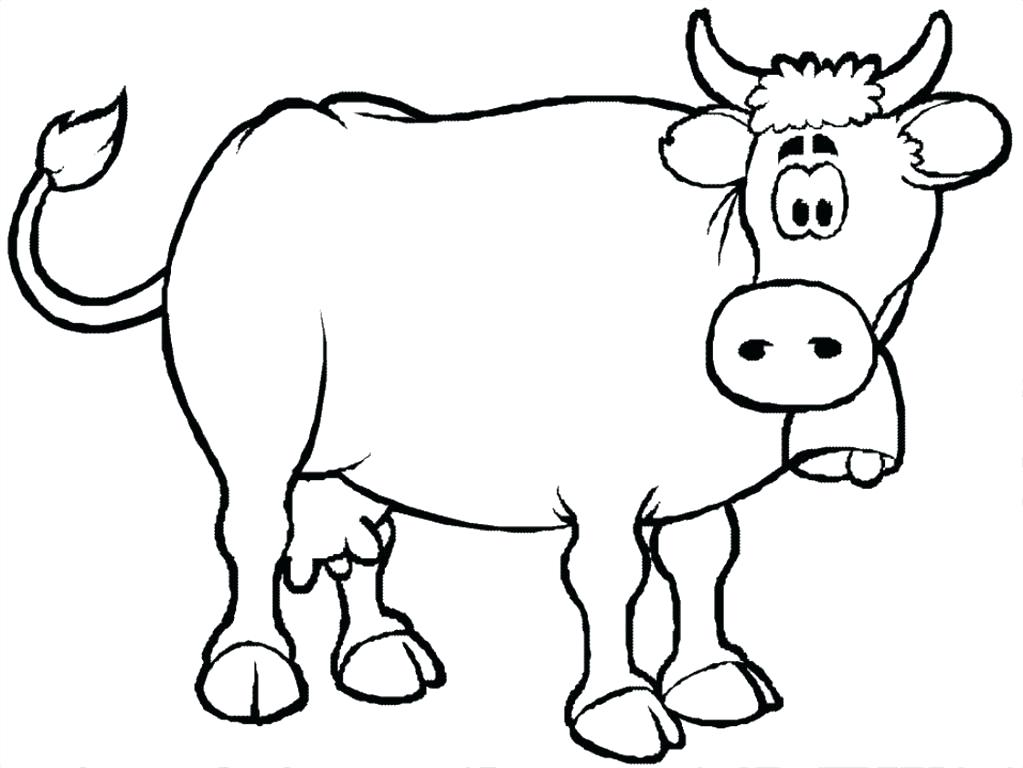 Cow Color Page Amazing Cow Coloring Book