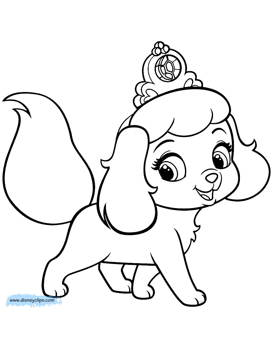 Cute Puppies Coloring Pages To Print 16429 Inside Puppy 7