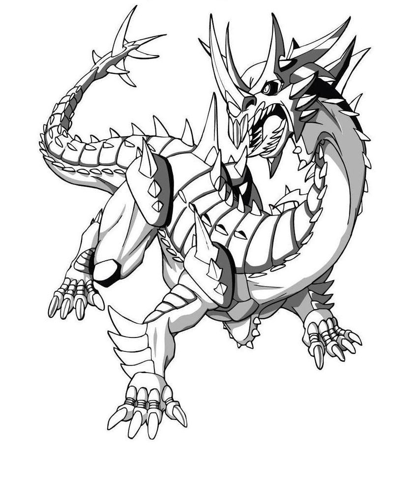 The Characters That Bakugan Coloring Pictures Portray Are Six