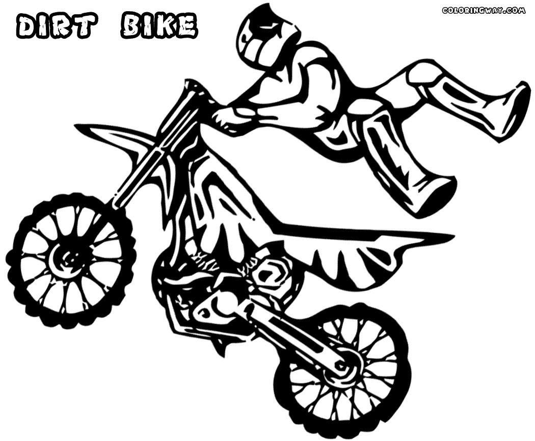Dirt Bike Coloring Pages Page In Bikes 2 Jennymorgan Me For