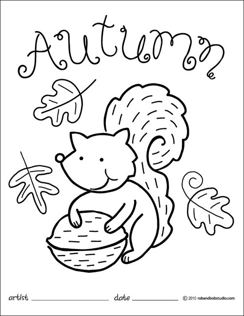 Fall Coloring Pages For Preschoolers Fall Coloring Pages Sheets