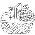 Free Printable Coloring Pages Easter Basket