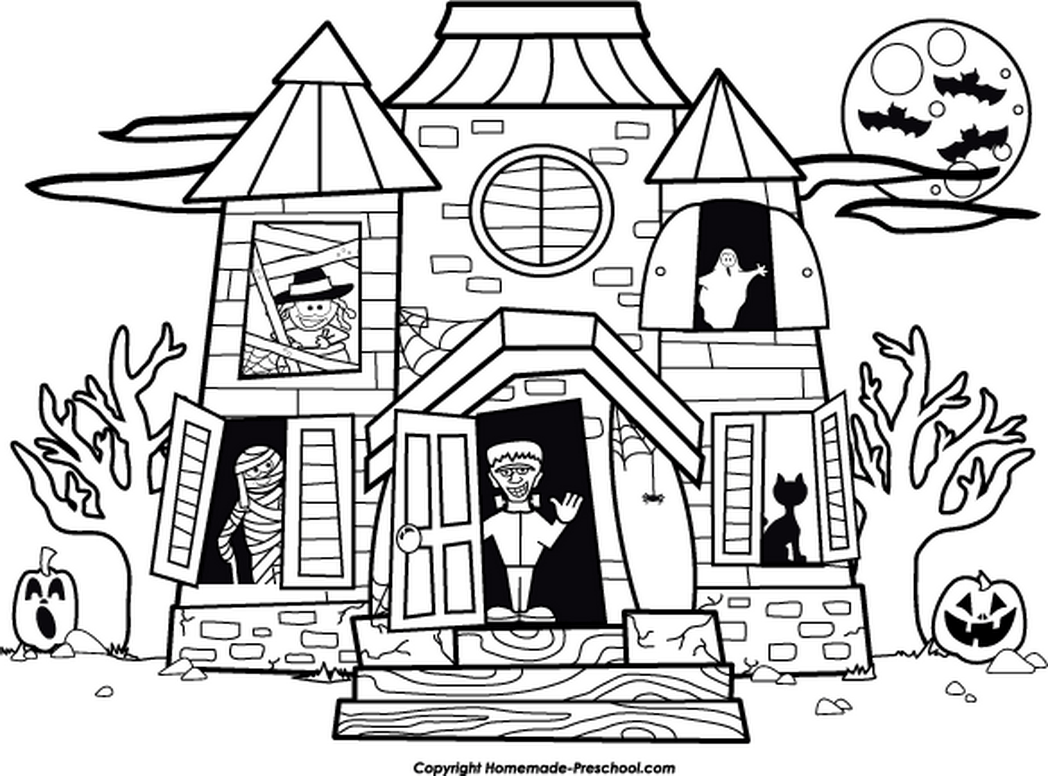 Girly Halloween Coloring Pages Sumptuous Design Ideas Halloween