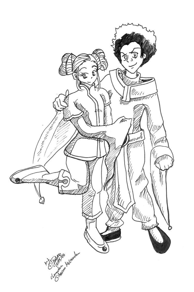 Boondocks Coloring Pages