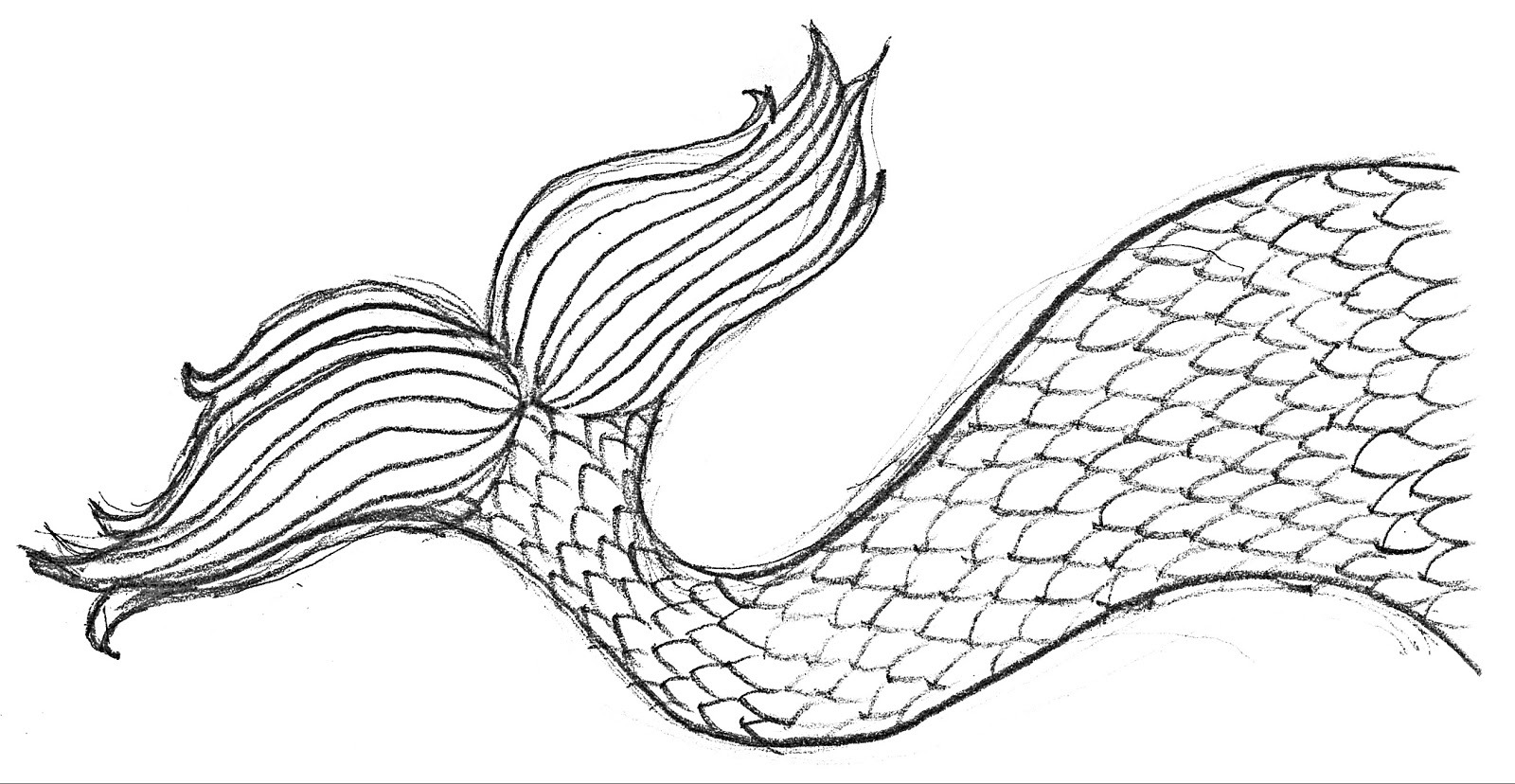 Sewpaperpaint  Free Printable Mermaid Tail Metallic Card