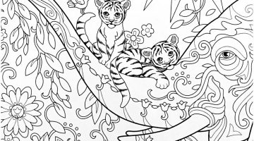 Frog On Lily Pad Coloring Pages