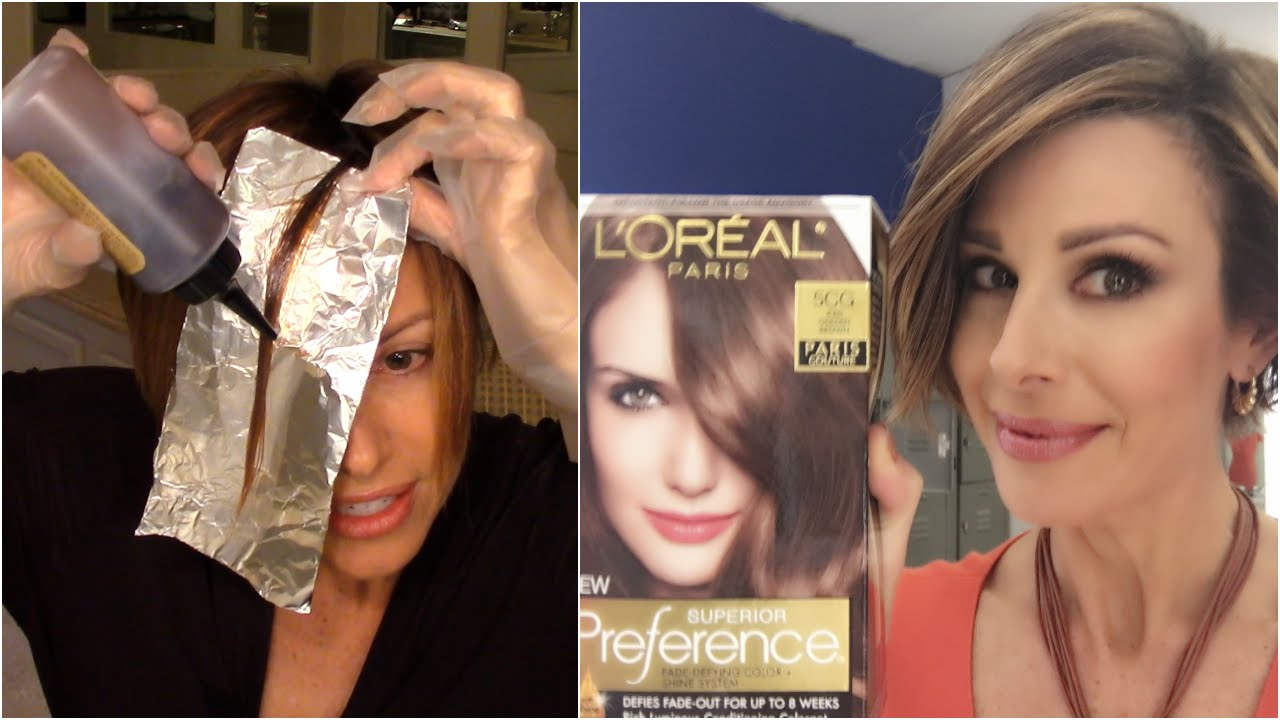 How To Color Your Hair At Home!