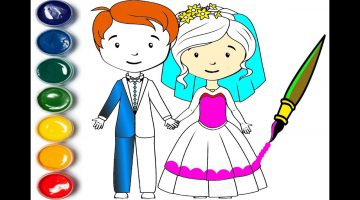 Bride Groom Coloring Pictures