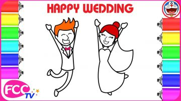Groom Coloring Pages