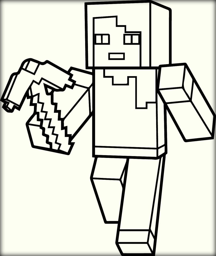 Minecraft Coloring Pages To Printpicture Collection