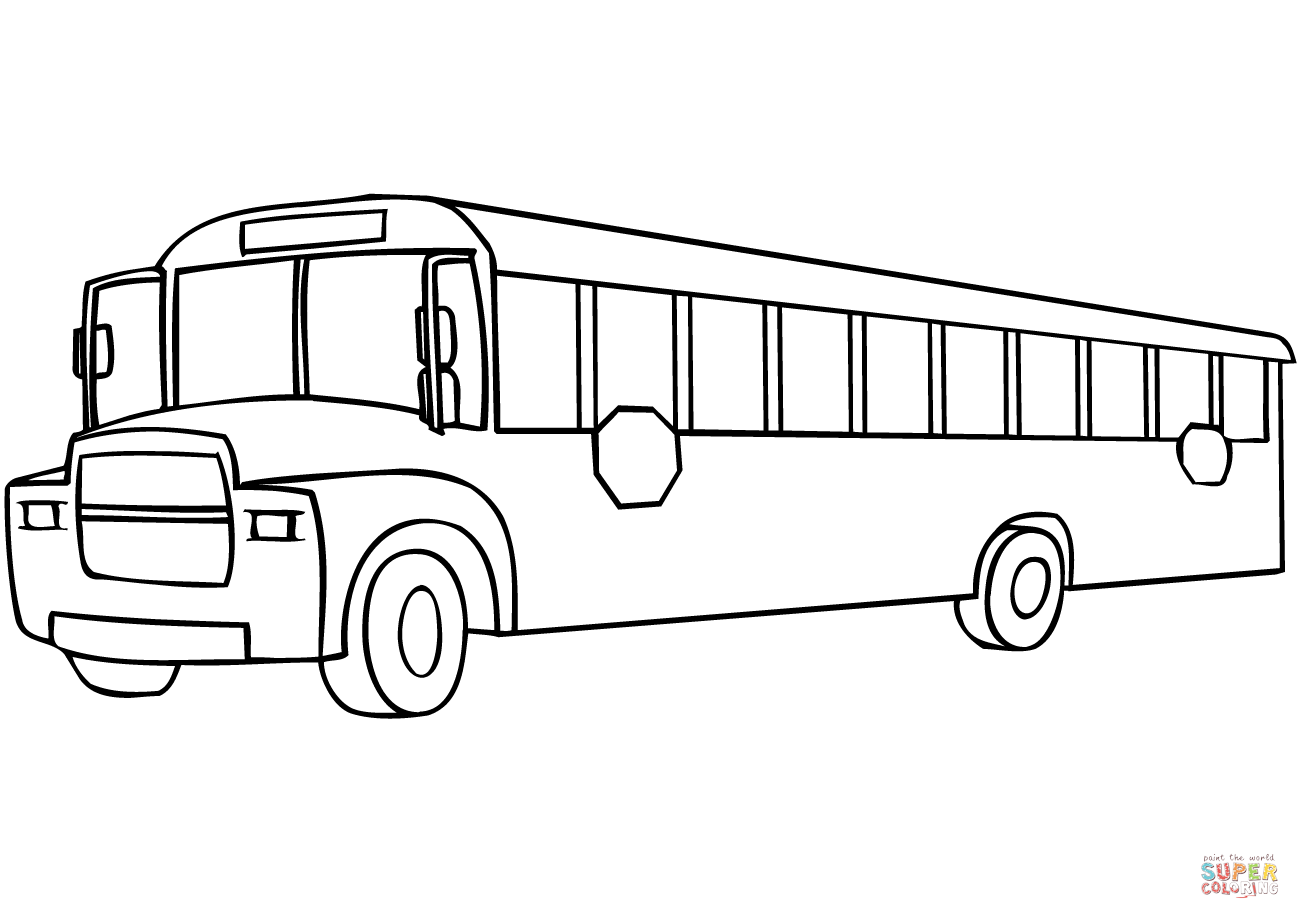 School Bus Print Out