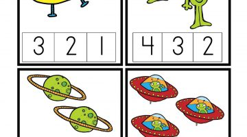 Outer Space Activity Sheets
