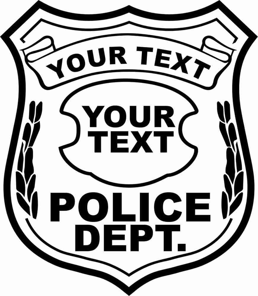 Police Badge Coloring Page Regarding Special Printable Police