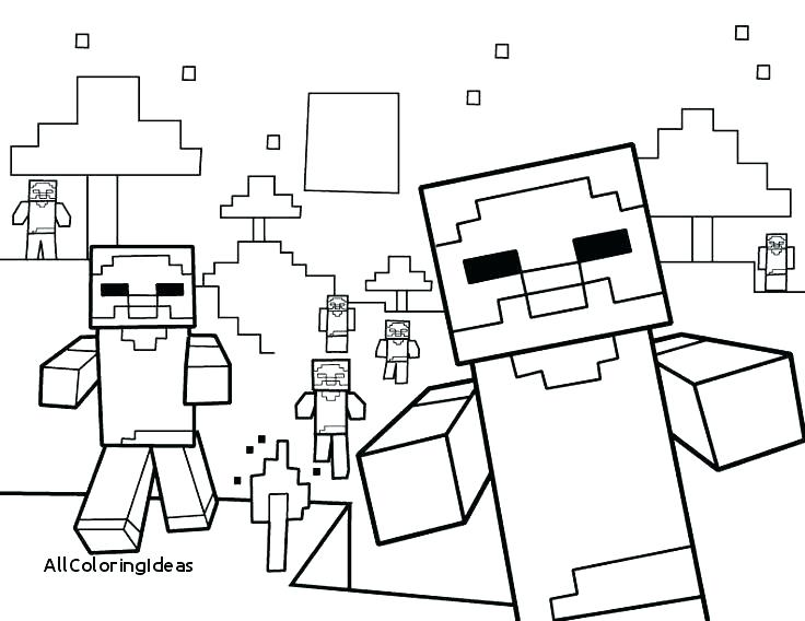 Printable Minecraft Coloring Pages  37928