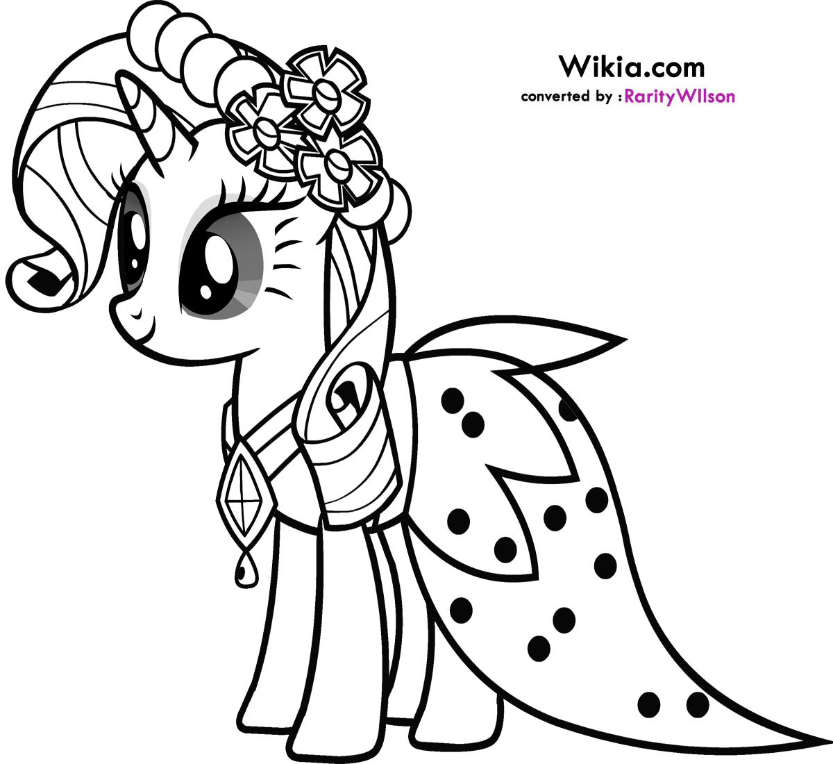 Printable My Little Pony Coloring Pages 20 With Printable My