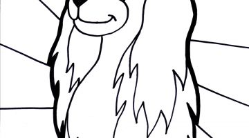 Puppy Dog Printable Coloring Pages