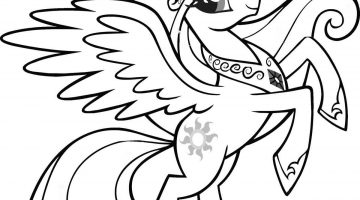 Unicorn Images To Color