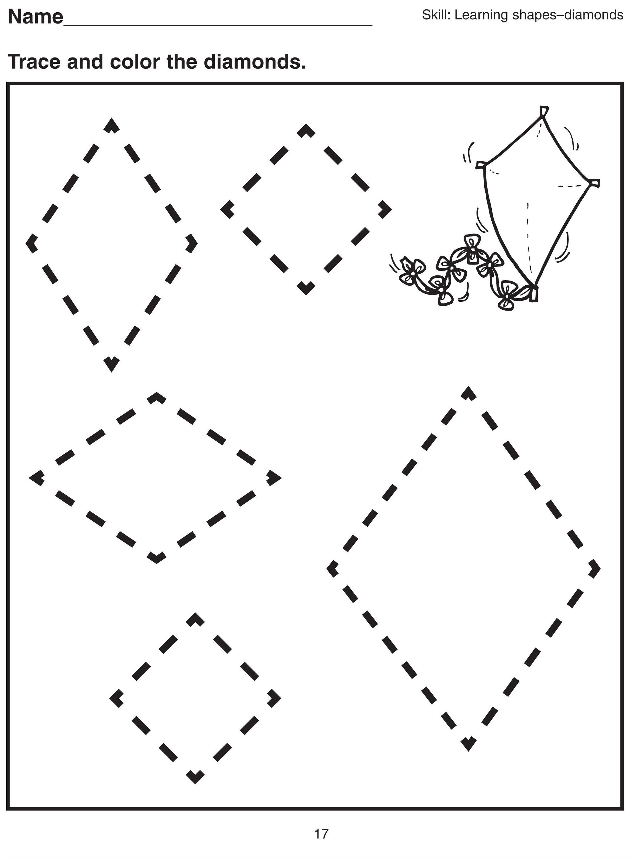 Diamond Shapes For Kids  1021