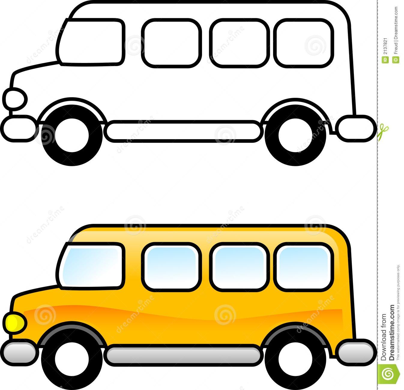 Free Clip Art School Bus